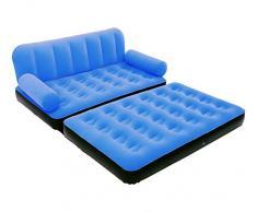 67356 Sofá relax dos en uno inflable BESTWAY dos posiciones 188x152x64cm - Azul oscuro