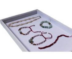 Expositor multiusos vitrina expositora de joyas y blanco