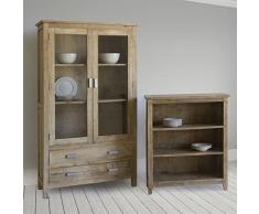 Vitrina 2 puertas madera - Colección Pure Life by Craften Wood