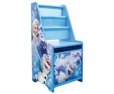 Fun House – 712408 – Disney Reina de las Nieves – mesita de noche con almacenamiento para niños 70 x 32.5 x 30 cm
