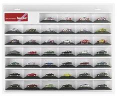 Herpa 055031 - Vitrina para coches (plástico, 56,2 x 44,5 x 6,5 cm), color blanco