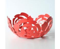 Alessi ESI15/21 R - Frutero de acero, color rojo