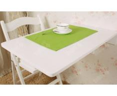 SoBuy Mesa Plegable de Pared, Mesa de Cocina, Mueble Infantil, Mesa de Pared 70x45cm, Color: Blanco, FWT04-W (Mesa)