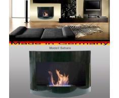 Gel y Etanol Chimenea modelo Sahara / Scegli il colore (Negro)