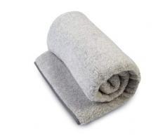 Manta de 100% Pura Lana Merina Manta 160 x 200 cm Cálido y Natural Certificada por Woolmark. Muy Suave y Confortable.