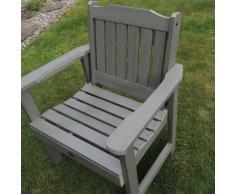 Highwood Lehigh - Butaca de madera sintética eco-friendly, color teca envejecida