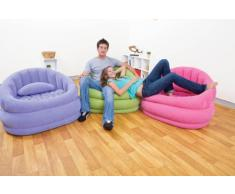 Intex 68563NP Cafe Chair - Sillón hinchable (sin ftalatos, 91 x 102 x 65 cm) - surtidos