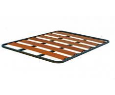 Hogar24.es-Somier Somieres lama ancha con taco anti-ruido, tubo 30 x 30; medida 90x190