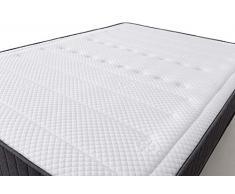 MAXCOLCHON Pack Colchon Confort-Visco + Almohada + Canape Abatible 135x190