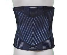 Soporte Ortopédico Steccato Banda Cinturón con Somier 6 negro Talla:6° (58-60+)