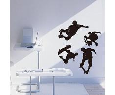 Habitación niños dormitorio juvenil cama carteles salón TV Expulsor de superficie de pared