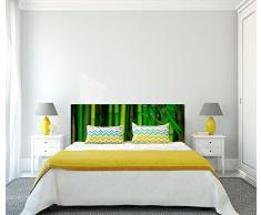 Cabecero Cama PVC Impresión Digital Bambú 200 x 60 cm | Disponible en Varias Medidas | Cabecero Ligero, Elegante, Resistente y Económico
