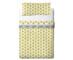 Universal Minions Eye - Juego de sábanas de 3 piezas para cama de 105 cm