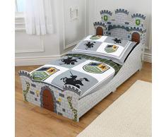 KidKraft 76279 - Cama infantil, diseño castillo medieval