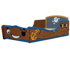Kidsaw pirata – Cama infantil
