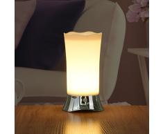 ZEEFO Lámparas de mesa con sensor inalámbrico de movimiento PIR, luz de noche, luz portátil a batería para interior/exterior, luz de seguridad para escritorio de habitación de niños, cuarto de baño, pasillo, cocina(plata)