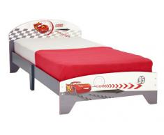 Cars 456CSR - Cama individual, color rojo