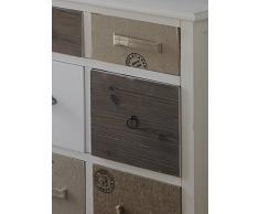 GEESE 7643 - Cómoda, 6 cajones, madera