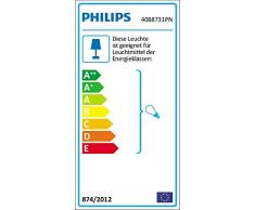 Philips myLiving Mohair - Lámpara colgante para interior, fácil montaje, casquillo gordo E27, bombilla no incluida, material sintético