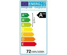 Led Atomant Lampara LED 120cm 72w. Doble Potencia. Pantalla, 72 W, Blanco, 120 Cm
