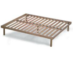Somier con estructura y 14 láminas de madera pou una mayor duración | ORANGE - 160x190 cm