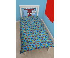 Character World Disney Spiderman Ultimate Thwip - Juego de cama infantil