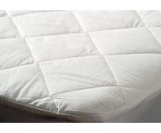 "Belledorm BMATTPROKABWP - Protector de colchón de algodón, tamaño ""king size"", 152 x 198 cm"