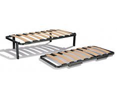 Somier canguro de laminas de madera mod. barcelona 80 x 190
