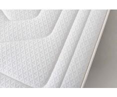 MAXCOLCHON Pack Colchon Luxe-Grafeno + Almohada + Canape Abatible 160x200