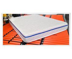 Ailime - Colchón para cama, espuma, 80 x 190 cm, color blanco