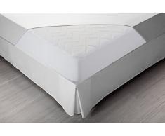 Pikolin Home - Protector de colchón acolchado (cubre colchón) Lyocell, híper-transpirable e impermeable, 135x190/200cm-Cama 135 (Todas las medidas)