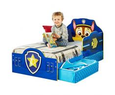 Paw Patrol 509PWP - Cama infantil con espacio de almacenamiento inferior