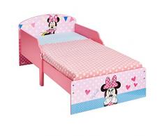 Disney 454MIS - Cama infantil con diseño de Minnie Mouse, color rosa