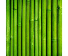 Cabecero Cama PVC Textura Bambú 115x60cm | Disponible en Varias Medidas | Cabecero Ligero, Elegante, Resistente y Económico