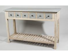 De madera de la cómoda de madera de 6 calzoncillos.