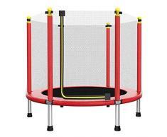 BZLLW Cama elástica con recinto de la Seguridad Neto, de Rebote Salto de trampolín, trampolín al Aire Libre for los niños, Adultos portátil trampolín