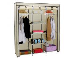 Armario de tela compra barato armarios de tela online en for Armario zapatero de tela