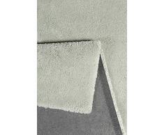 Esprit Relaxx Moderno Marca Alfombra, poliéster, Frosty Verde, 170 x 120 x 2.5 cm