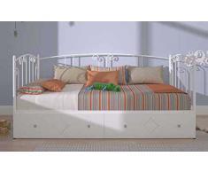 Cama div n comprar online tus camas div n baratas en livingo - Cama divan forja ...