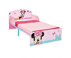 Disney 505MIS - Cama infantil con diseño de Minnie Mouse, color rosa