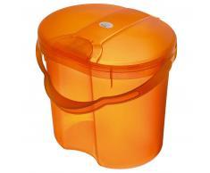 Rotho Babydesign ROTHO TOP Papelera para pañales naranja translúcido