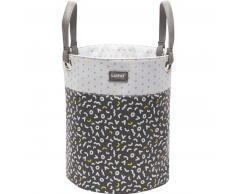 Luma ® Babycare Cesta para juguetes Diseño: Memphis gris mediana