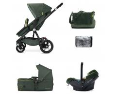 Concord Cochecito Wanderer Mobility-Set Jungle Green Limited Edition