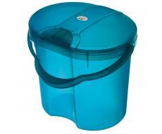 Rotho Babydesign ROTHO TOP Papelera para pañales azul translúcido