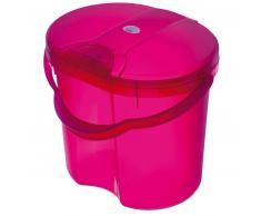 Rotho Babydesign ROTHO TOP Papelera para pañales rosa translúcido