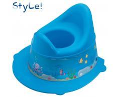 Rotho Babydesign ROTHO STyLE! Papelera para pañales Océano aguamarina