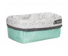 Bebe Jou bébé-jou® Babycare Cesta de tela Design: Bo & Bing en verde claro