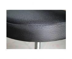 VORCOOL 33 cm Funda de Taburete Redondo en algodón Protectora Suave Silla Protector Redondo (Negro)