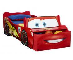 Worlds Apart - Cama infantil de metal y plástico con motivos de la película Cars de Disney