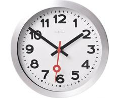 Nextime Station Reloj de Pared, Blanco, 3,5 cm